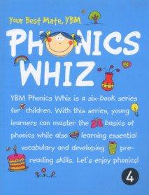 YBM Phonics Whiz 4 (Paperback + CD:2)