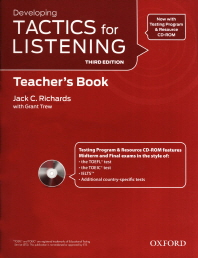 """<font title=""""Developing Tactics for Listening, 3rd Edition : Teachers Resource Pack (Paperback+CD:2)"""">Developing Tactics for Listening, 3rd Ed...</font>"""