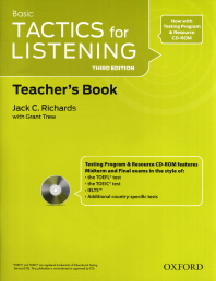 """<font title=""""Basic Tactics for Listening, 3rd Edition : Teachers Resource Pack (Paperback+CD:2)"""">Basic Tactics for Listening, 3rd Edition...</font>"""