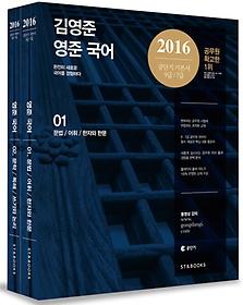 2016 김영준 영준 국어 세트
