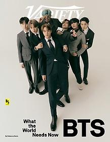 Variety (주간, 발행국: 미국) - 2020년 9월 29일 : BTS 방탄소년단 커버
