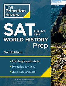 "<font title=""Princeton Review SAT Subject Test World History Prep, 3rd Edition (Paperback)"">Princeton Review SAT Subject Test World ...</font>"
