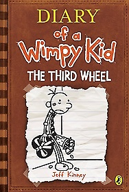 "<font title=""Diary of a Wimpy Kid #7: The Third Wheel (Paperback/ 영국판)"">Diary of a Wimpy Kid #7: The Third Wheel...</font>"