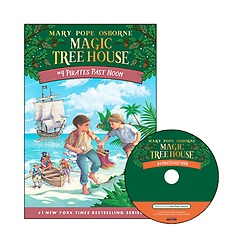 Magic Tree House #04 : Pirates Past Noon (Paperback+ CD)