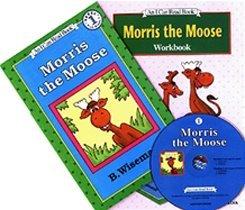 Morris the Moose - I Can Read Book Workbook Set Level 1 (Paperback + Workbook + CD)