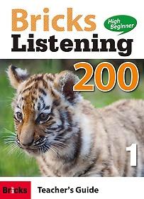 """<font title=""""Bricks Listening High Beginner 200-1 (Teacher"""