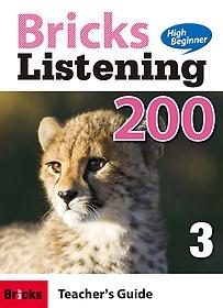 """<font title=""""Bricks Listening High Beginner 200-3 (Teacher"""