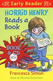 """<font title=""""Horrid Henry Reads a Book : Early Reader (Paperback +CD)"""">Horrid Henry Reads a Book : Early Reader...</font>"""