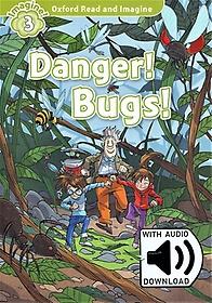 "<font title=""Oxford Read & Imagine: Level 3 - Danger! Bugs! (Paperback With Mp3)"">Oxford Read & Imagine: Level 3 - Danger!...</font>"