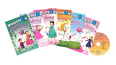 I Can Read SET 04: Pinkalicious (Paperback:6+MP3 CD:1)