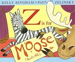 Z is for Moose (Paperback)