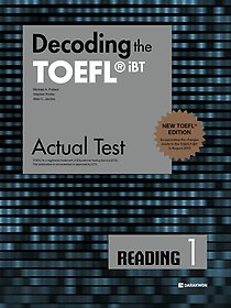 "<font title=""Decoding the TOEFL iBT Actual Test READING 1 (New TOEFL Edition)"">Decoding the TOEFL iBT Actual Test REA...</font>"