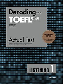 "<font title=""Decoding the TOEFL iBT Actual Test LISTENING 1 (New TOEFL Edition)"">Decoding the TOEFL iBT Actual Test LIS...</font>"