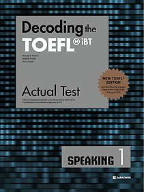 "<font title=""Decoding the TOEFL iBT Actual Test SPEAKING 1 (New TOEFL Edition)"">Decoding the TOEFL iBT Actual Test SPE...</font>"