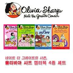 Olivia Sharp 챕터북 4종 세트 (Paperback)