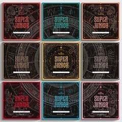 슈퍼주니어(Super Junior) 10집 - The Renaissance (SQUARE Style)[예약판매 기간한정 9장 구매시, 버..