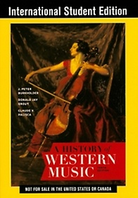 History of Western Music, 10/e (IE)