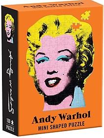 "<font title=""Andy Warhol Mini Shaped Puzzle Marilyn (100Piece puzzle)"">Andy Warhol Mini Shaped Puzzle Marilyn (...</font>"