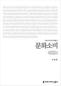 문화소비 (큰글씨책)