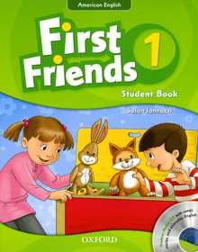 """<font title=""""First Friends 1: Studentbook (Paperback+CD)"""">First Friends 1: Studentbook (Paperback+...</font>"""