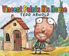 """<font title=""""Vincent Paints His House (School and Library Binding)"""">Vincent Paints His House (School and Lib...</font>"""