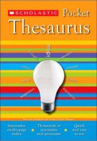 Scholastic Pocket Thesaurus (Paperback)