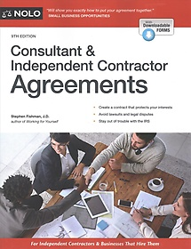 "<font title=""Consultant & Independent Contractor Agreements (Paperback / 9th Ed.)"">Consultant & Independent Contractor Agre...</font>"