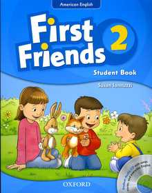 """<font title=""""First Friends 2: Studentbook (Paperback+CD)"""">First Friends 2: Studentbook (Paperback+...</font>"""