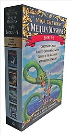 "<font title=""Magic Tree House Merlin Mission Boxed Set (Paperback)"">Magic Tree House Merlin Mission Boxed Se...</font>"