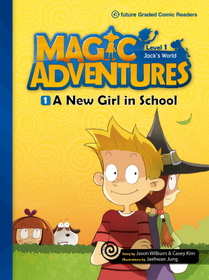 """<font title=""""Magic Adventures 1-1 A New Girl in School : Story Book 분권 + Audio CD:1 (Paperback)"""">Magic Adventures 1-1 A New Girl in Schoo...</font>"""