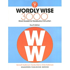 """<font title=""""Wordly Wise 3000 : Book 7 (Paperback/4th Ed.)"""">Wordly Wise 3000 : Book 7 (Paperback/4th...</font>"""