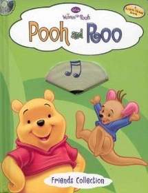 Pooh and Roo (Board Book+CD)