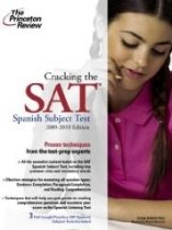 """<font title=""""Cracking the SAT Spanish Subject Test 2009-2010 Edition (Paperback)"""">Cracking the SAT Spanish Subject Test 20...</font>"""