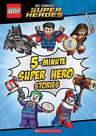 5-minute Super Hero Stories (Hardcover)