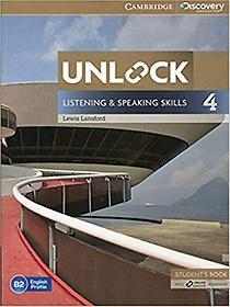 "<font title=""Unlock Level 4 Listening and Speaking Skills Student"