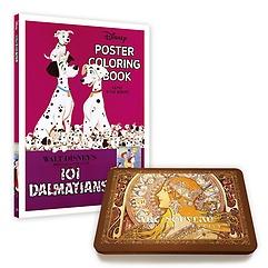 "<font title=""디즈니 포스터 컬러링북+아르누보 색연필 50색 틴케이스 세트"">디즈니 포스터 컬러링북+아르누보 색연필 5...</font>"