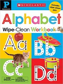 "<font title=""Pre-k Alphabet Wipe-clean Workbook (Hardcover / Workbook)"">Pre-k Alphabet Wipe-clean Workbook (Hard...</font>"