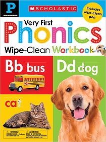 "<font title=""Pre-k My Very First Phonics Wipe Clean Workbook (Hardcover / Workbook)"">Pre-k My Very First Phonics Wipe Clean W...</font>"