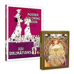 """<font title=""""디즈니 포스터 컬러링북+아르누보 36색 색연필 세트"""">디즈니 포스터 컬러링북+아르누보 36색 색...</font>"""