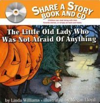 The Little Old Lady Who Was Not Afraid of Anything (Paperback+Audio CD)