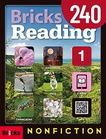 "<font title=""Bricks Reading 240 Nonfiction Level 1 (Student Book, Work Book, Ebook Access code)"">Bricks Reading 240 Nonfiction Level 1 (S...</font>"