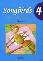 Songbirds 4 : Games (Paperback+CD)