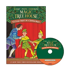 Magic Tree House #25 : Stage Fright on a Summer Night (Paperback+ CD)