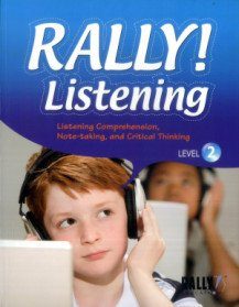 RALLY! Listening - Level 2 (Paperback + CD: 1)