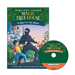 Magic Tree House #05 : Night of the Ninjas (Paperback+ CD)