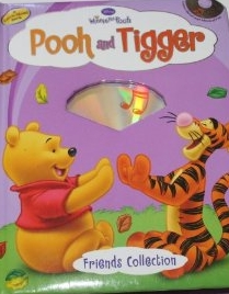 Pooh & tigger (Board Book+CD)