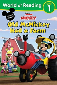 """<font title=""""World of Reading 1 : Old McMickey Had a Farm (Paperback) """">World of Reading 1 : Old McMickey Had a ...</font>"""