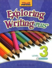 "<font title=""Time for Kids - Exploring Writing Plus Level 3 (Paperback + CD: 1)"">Time for Kids - Exploring Writing Plus L...</font>"