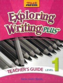 "<font title=""Time for Kids - Exploring Writing Plus Level 1 - Teacher"