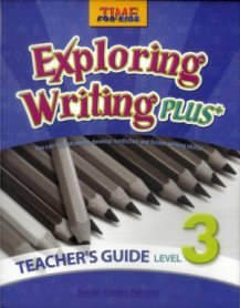 "<font title=""Time for Kids - Exploring Writing Plus Level 3 - Teacher"
